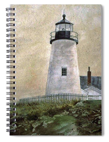 Evening Light Spiral Notebook