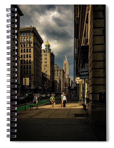 Evening On Fifth Avenue Spiral Notebook