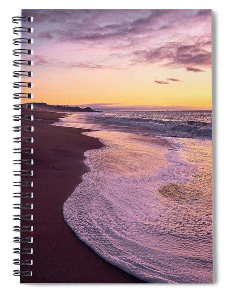 Evening On Gleneden Beach Spiral Notebook