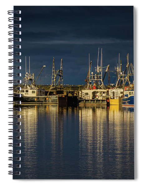 Evening Reflections Spiral Notebook