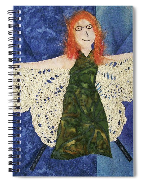 Every Fiber Of Her Being Spiral Notebook