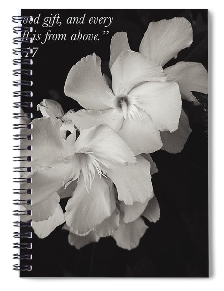 Every Good Gift Spiral Notebook