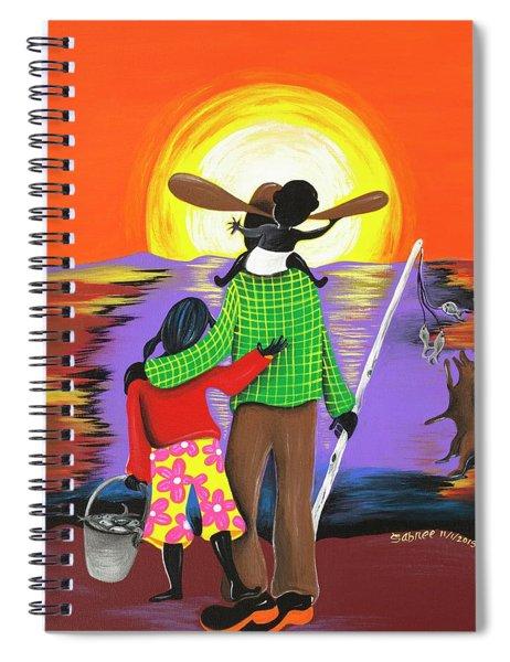 Everyday Treasures  Spiral Notebook