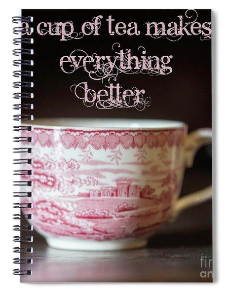 Everything Better Spiral Notebook