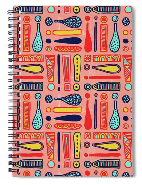 Exclamations Pattern Spiral Notebook