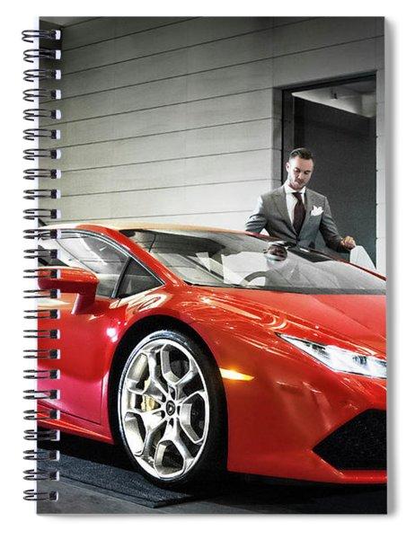 Executive Experience Spiral Notebook