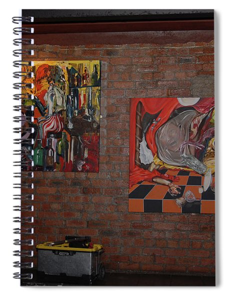 Exhibition - 1 Spiral Notebook