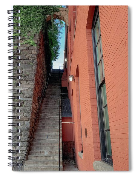 Exorcist Stairs Beauty Spiral Notebook