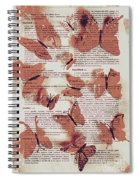 Exotic Scripts Spiral Notebook