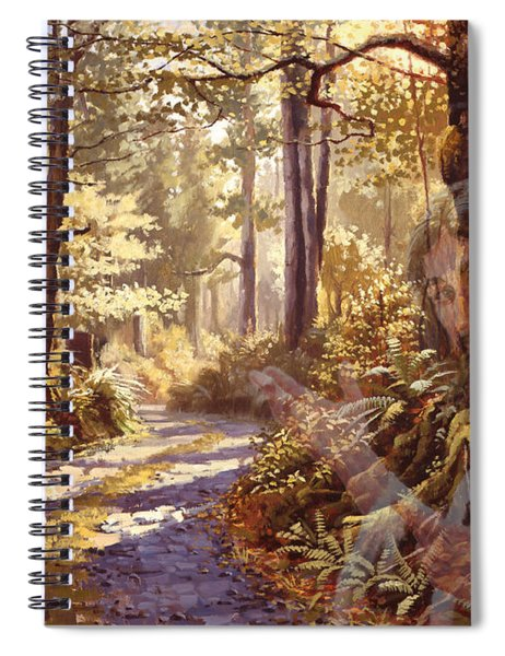 Explore With Me Spiral Notebook