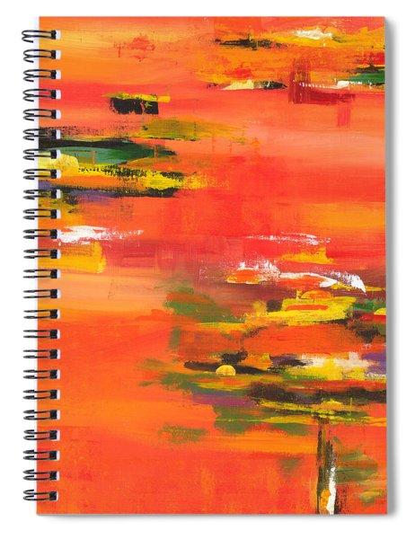 Exploring Evening Spiral Notebook