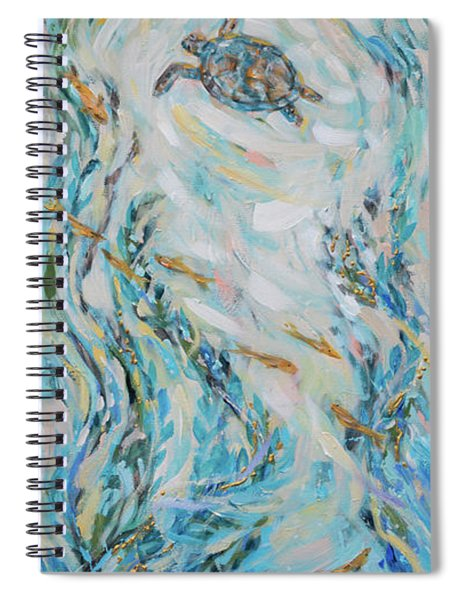 Exploring The Reef Spiral Notebook