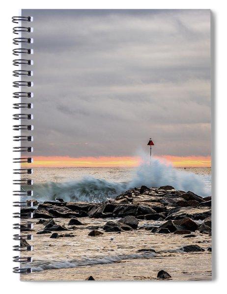 Explosive Sea 1 Spiral Notebook
