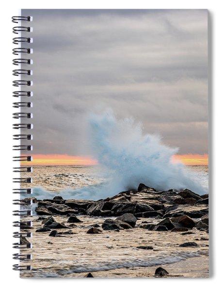 Explosive Sea 3 Spiral Notebook