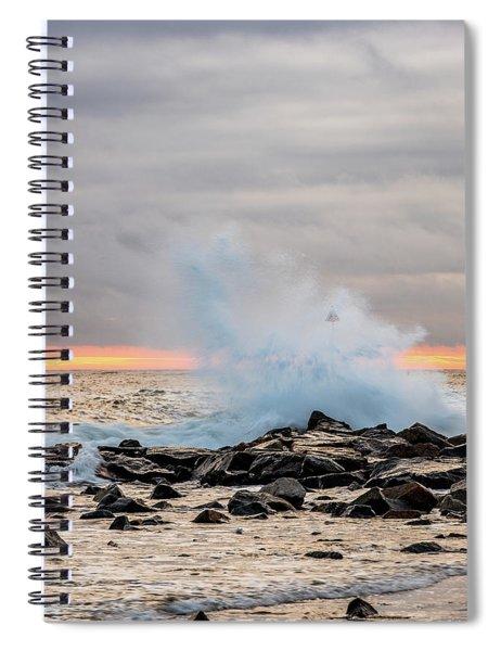 Explosive Sea 4 Spiral Notebook
