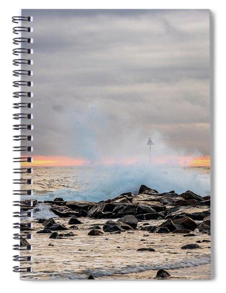 Explosive Sea 5 Spiral Notebook
