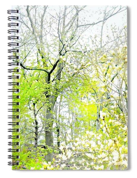 Sweet Caress Spiral Notebook