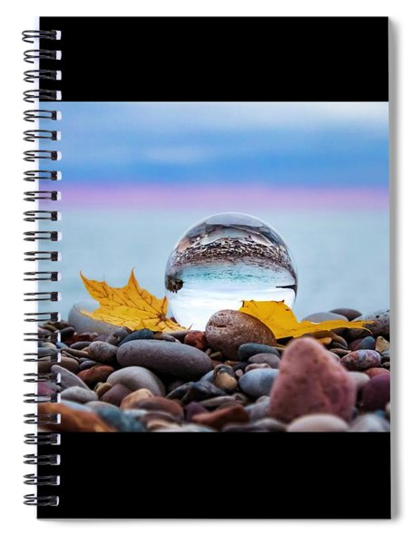 Eye Of The Calm Spiral Notebook