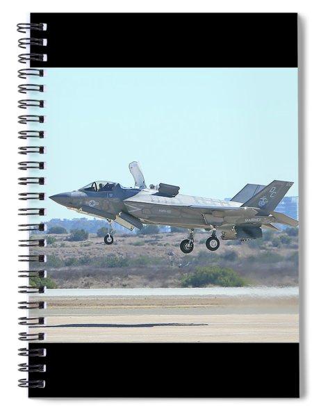 F-35b Lightning II #10 Spiral Notebook