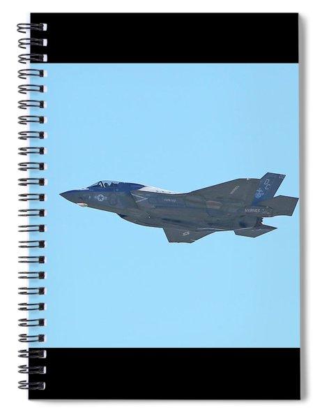 F-35b Lightning II #3 Spiral Notebook