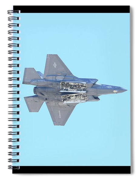F-35b Lightning II #4 Spiral Notebook