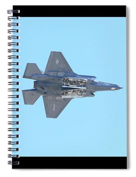 F-35b Lightning II #5 Spiral Notebook