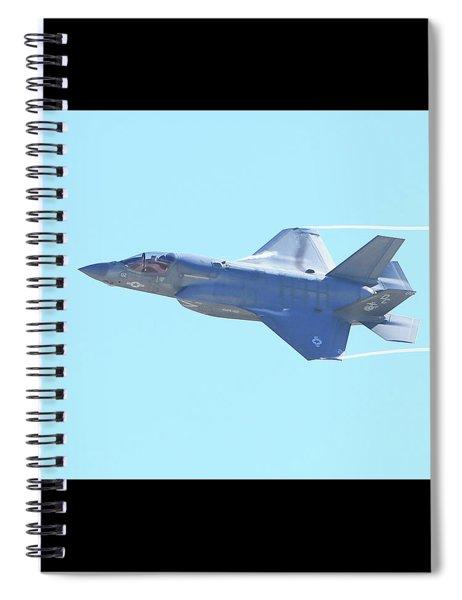 F-35b Lightning II #7 Spiral Notebook
