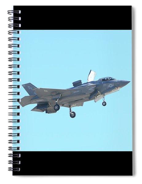 F-35b Lightning II #8 Spiral Notebook