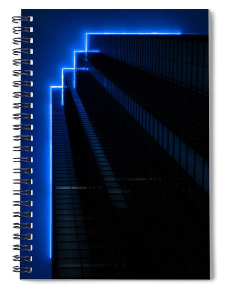 F For Fog Spiral Notebook