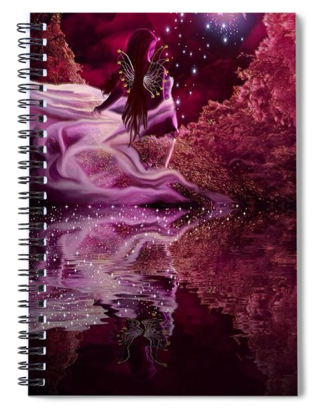 Face Of An Angel Spiral Notebook