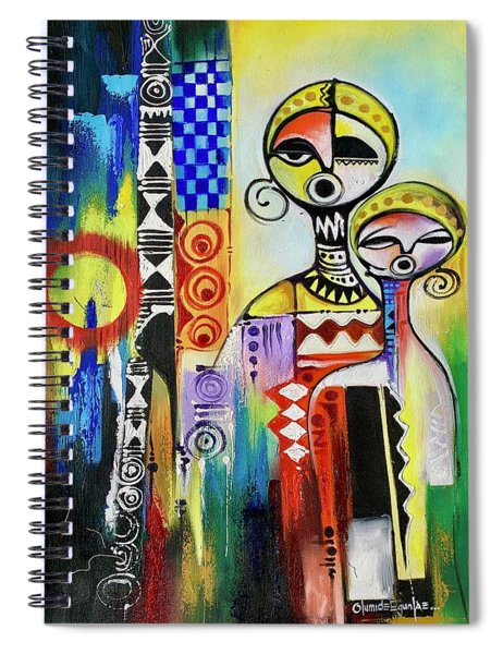 Facing Darkness Spiral Notebook