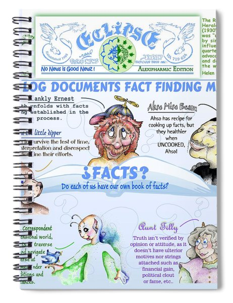 Fact Finding Mission Spiral Notebook