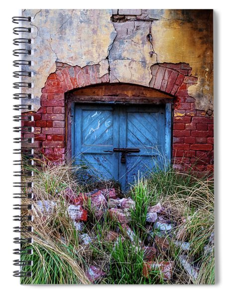 Faded In Time Spiral Notebook