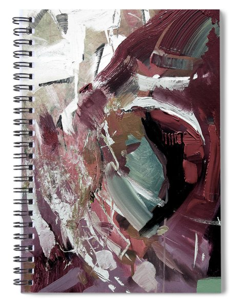 Faded Spiral Notebook