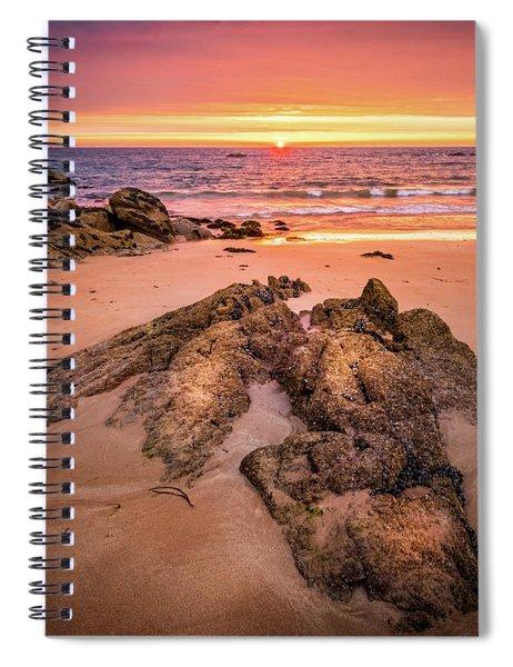 Fading Light Spiral Notebook