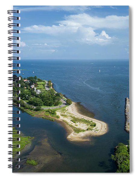 Fairfield And Black Rock Connecticut Spiral Notebook