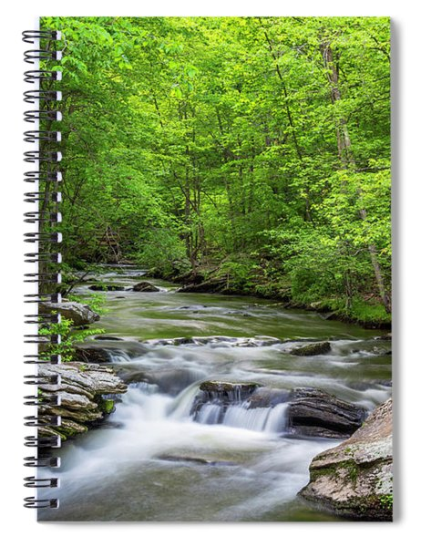 Fairfield Cascades Spiral Notebook