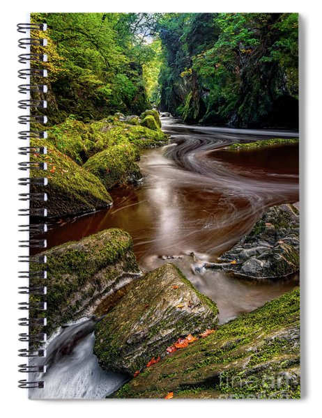 Fairy Glen Gorge Spiral Notebook