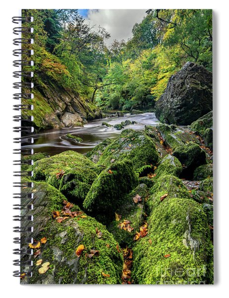 Fairy Glen Snowdonia Spiral Notebook