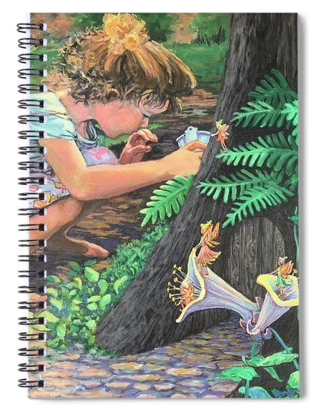Fairy World Spiral Notebook