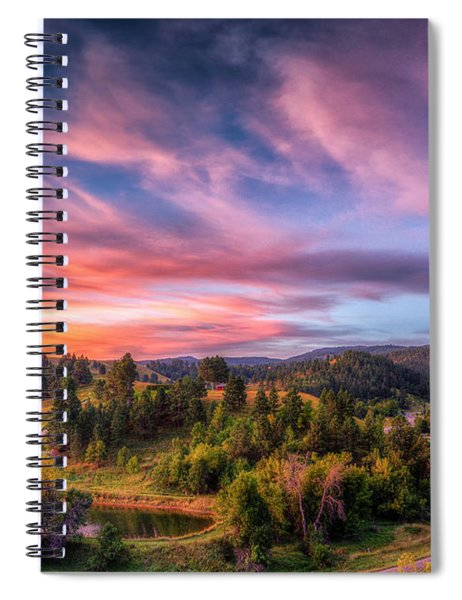 Fairytale Morning Spiral Notebook
