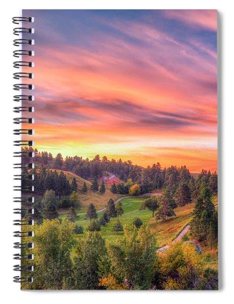 Fairytale Triptych 1 Spiral Notebook