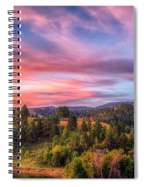Fairytale Triptych 2 Spiral Notebook