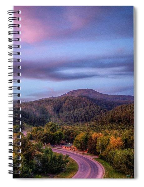 Fairytale Triptych 3 Spiral Notebook