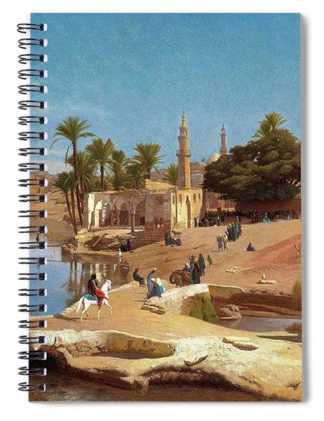 Faiyum Landscape - Digital Remastered Edition Spiral Notebook