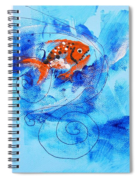 Fake Nemo Fish Spiral Notebook