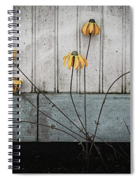 Fake Wilted Flowers Spiral Notebook