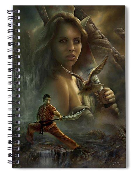 Falcons Spiral Notebook