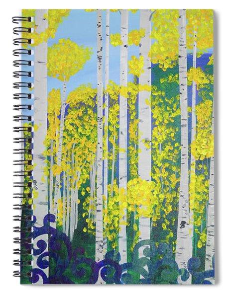 Fall Aspens Spiral Notebook
