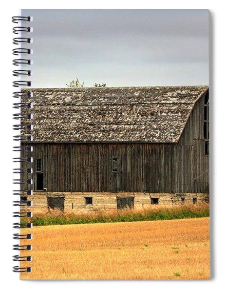 Fall Barn  Spiral Notebook